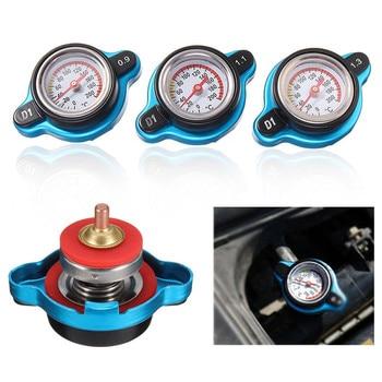 1.3bar موتو 1.1 بار قبعة قياس 0.9 بار مبرد ماء درجة الحرارة الحرارية ترموستاتي خزان غطاء خزان المياه مع ساعة