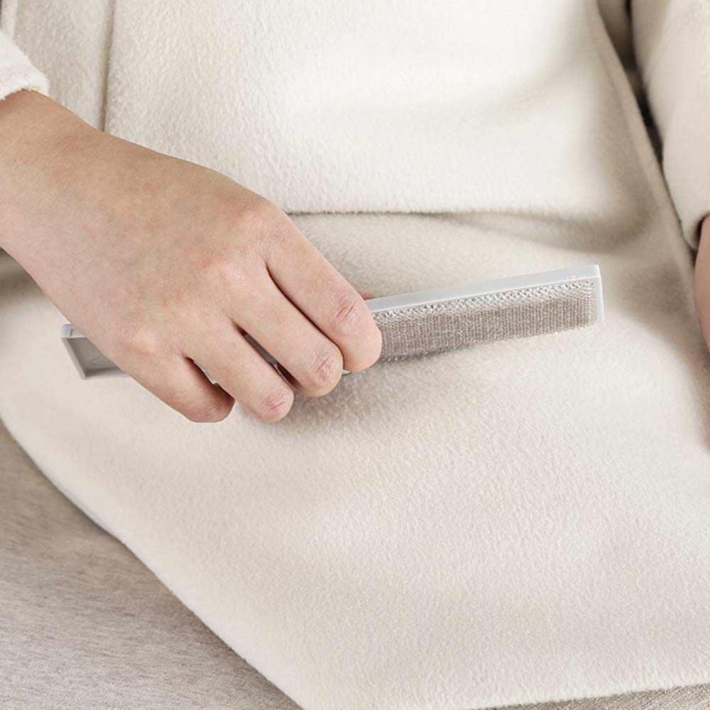 Mini przenośne składane usuwanie kłaków wałek pyłu trymer do włosów sierść zwierząt kij sweter ubrania kij antystatyczne narzędzia do czyszczenia