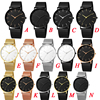 Minimalism Arrival Men Watch Mesh Band Stainless Steel Analog Quartz Wristwatch Simple Unisex Business Low profile Silver Gift 5