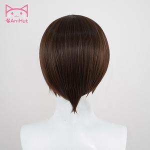 Image 4 - 【Anihut】chocola nekoparaコスプレウィッグチョコレート耐熱人工毛チョコラコスプレ毛