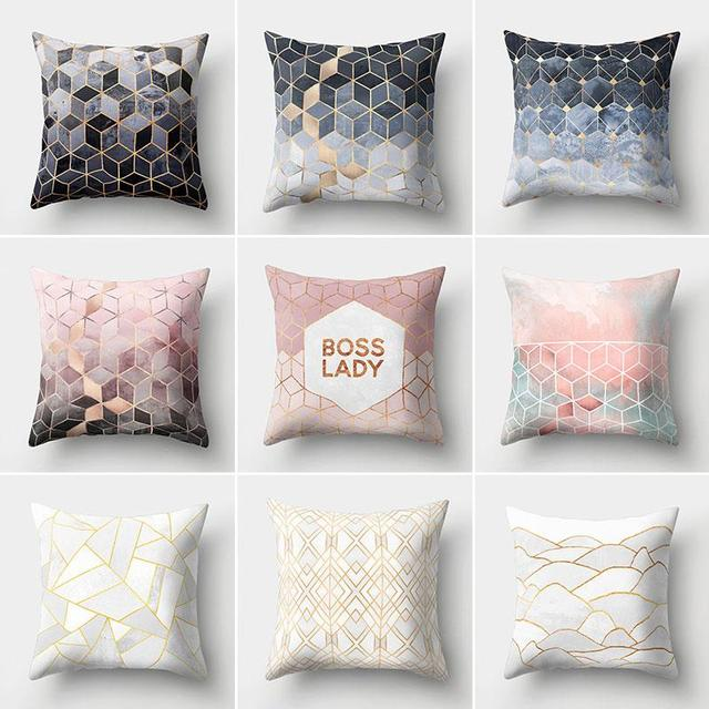 Solid Color Velvet Cushion Cover 3