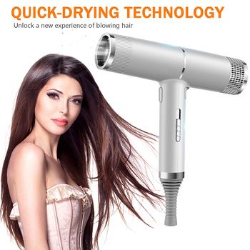 Suszarka do włosów jonów ujemnych elektryczna suszarka nadmuchowa lekki Salon suszarka do włosów silny wiatr gorąca suszarka przenośny dyfuzor suszarka nadmuchowa tanie i dobre opinie HAIMAITONG Nieskładany uchwyt 1000-1199 w Europejski CN (pochodzenie) Gorące Zimne powietrze 100-240 v (podwójnego napięcia)