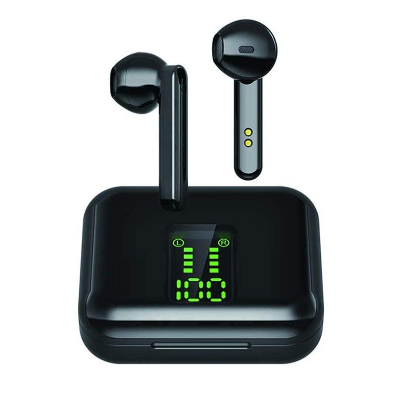X15 TWS Bluetooth наушники, беспроводные наушники, светодиодный дисплей, Bluetooth 5,0, Спортивная гарнитура, наушники, наушники с зарядным чехлом