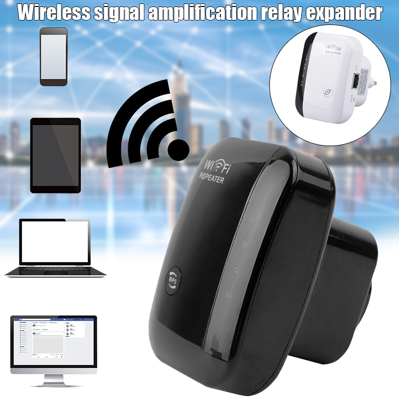 300Mbps WiFi Repeater Wireless Router Extender WiFi Ranges Signal Booster KQS8