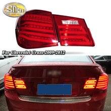 Car LED Tail Light Taillight For Chevrolet Cruze 2009 - 2012 Rear Fog Lamp + Brake Light + Reverse Light + Turn Signal Light for chevrolet cruze led head lamp 2009 to 2011 v4 type