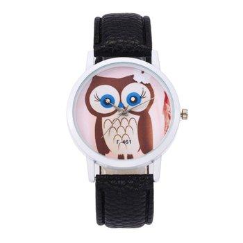 Women Cute Bracelet Watches Simple Leather Strap Wrist Watch Fashion Simple Quartz Wristwatch Clock Women Watches