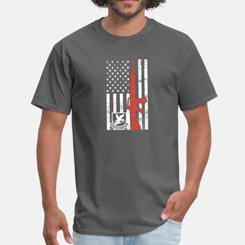 Designs Air Force Security Forces Gun Mens T Shirt Women Round Collar Cool Men T Shirt Plus Size S-5xl Homme Hiphop Top