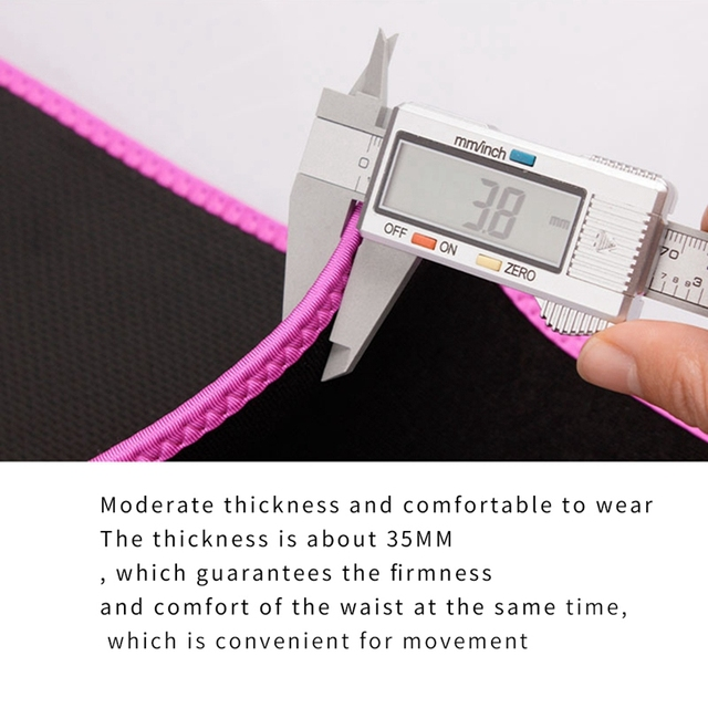 Sweat Waist Trainer Corset Trimmer Belt for Women Weight Loss with Comfortable Phone Pocket M 3