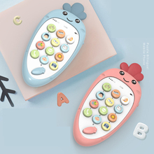 Simulation-Toys Remote-Control Baby-Phone 0-12-Months Music Early-Educational for Newborns