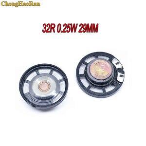 Chenghaoran 5 pçs ultra-fino alto-falante campainha chifre brinquedo-chifre do carro 32 ohms 0.25 watt 0.25 w 32r alto-falante diâmetro 29mm 2.9 cm