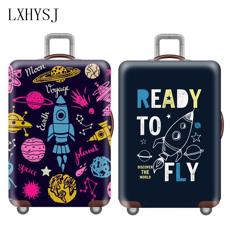 Travel Luggage Cover Elasticity Luggage Protective Covers For 18-32 Inch Suitcase Case Baggage Cover Travel Accessories