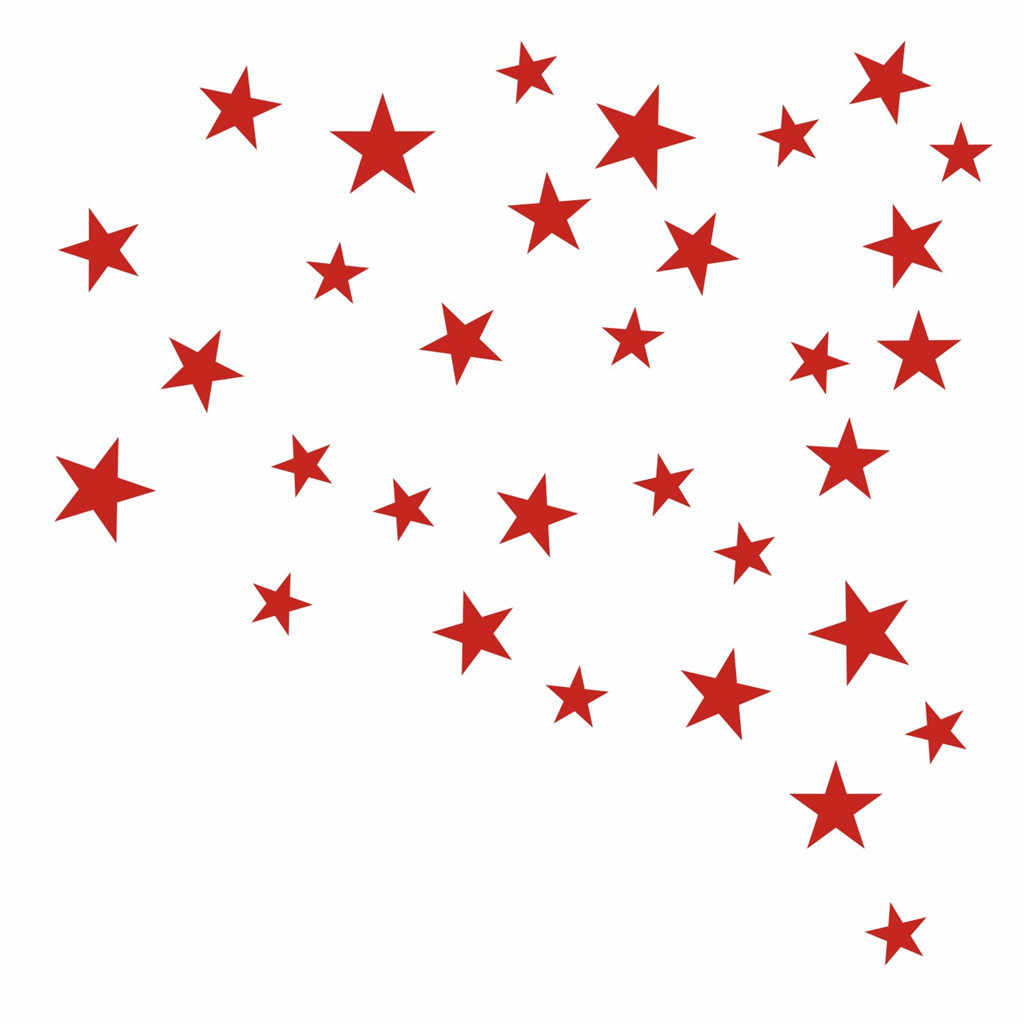 Little Stars สติ๊กเกอร์ติดผนังสำหรับห้องเด็กทารกห้องนอนเด็กตกแต่งบ้าน Decals ผนังศิลปะเด็กสติกเกอร์ผนัง 2020