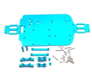 Image 3 - Piezas de chasis de Metal para coche de control remoto WL A959 A979 A959B A979B