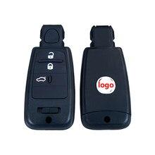 Mando a distancia inteligente Go sin llave para coche, 3 botones, 433Mhz, con Chip 4A, para Fiat 500, Panda Punto Bravo Ducato Stilo Tipo Viaggio ottima