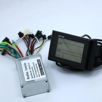 Greentime 36V 48V 250W Brushless DC Motor Controller Ebike Controller +SW900 LCD Display One Set