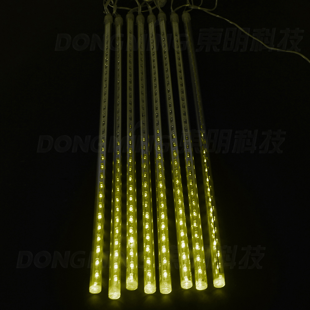 50sets 8pcs 50cm/pcs Meteor Shower Rain Tubes Christmas Light Led Lamp 110-240V Outdoor Holiday Light New Year Decoration