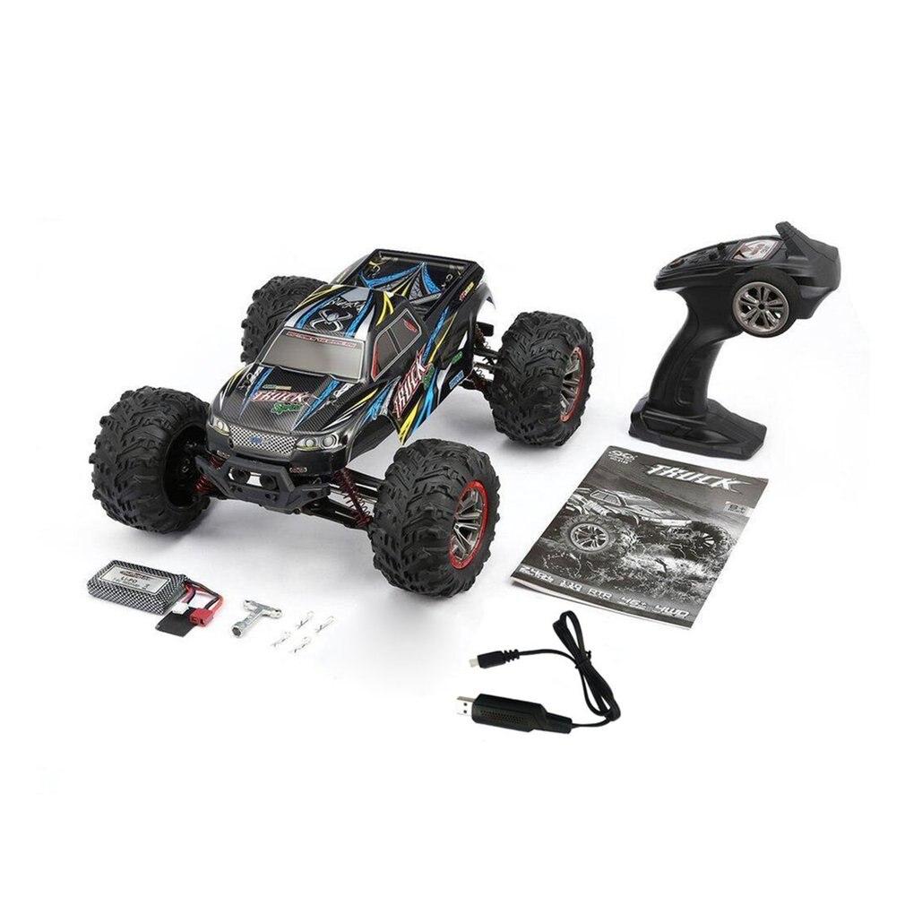 Oyuncaklar ve Hobi Ürünleri'ten RC Arabalar'de Yüksek kalite 9125 4WD 1/10 yüksek hızlı 46 km/saat elektrikli süpersonik kamyon Off Road araç Buggy rc yarış arabası elektronik oyuncaklar RTR title=
