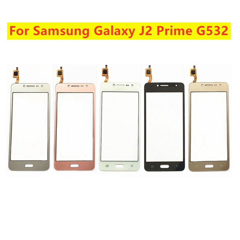 Tested Touch Screen Digitizer Sensor For Samsung Galaxy J2 Prime G532 SM-G532 SM-G532F G532F Front Glass Panel Glass Lens