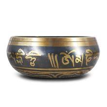 Tibetan Bowl Singing Bowl Nepalese Buddhist Chanting Yoga Chakra Meditation Bowl 094C