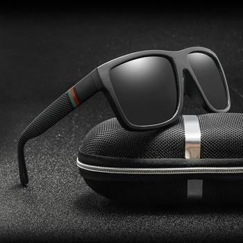 Unisex Polaroid Square Vintage Sunglasses 1