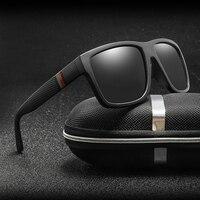 Polaroid Sunglasses Unisex Square Vintage Sun Glasses Famous Brand Sunglases Polarized Sunglasses Oculos Feminino for Women Men