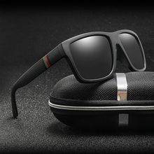 Polaroidowe okulary przeciwsłoneczne unisex vintage znane marki dla kobiet i mężczyzn tanie tanio RUISIMO SQUARE Dla dorosłych Z poliwęglanu Spolaryzowane Lustro Fotochromowe Anti-odblaskowe UV400 KP1055