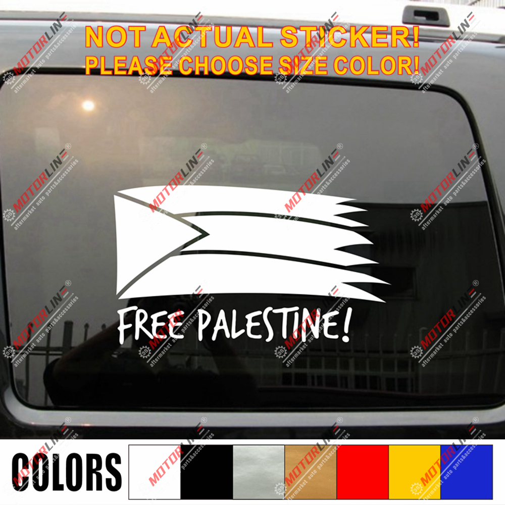 Free Palestine Sticker And Phone Case Sticker Sticker Vinyl Bumper Sticker Decal Waterproof 5