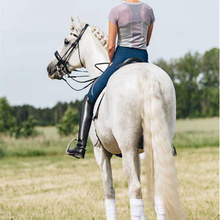 Leggings Pants Breeches Chaps Equestrian Horse Full-Seat Silicone Women Tight Nob--E