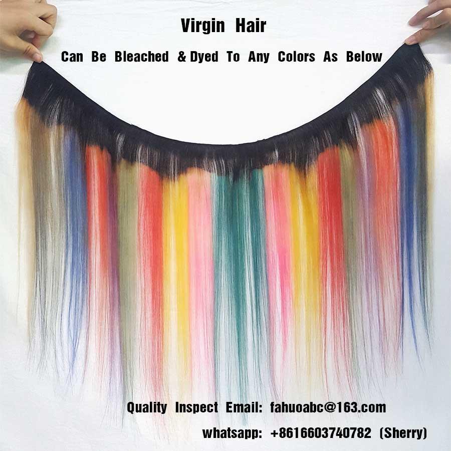 double drawn virgin hair