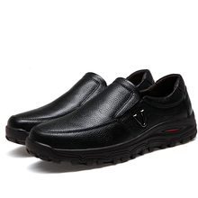 Spring Summer Men #8217 s Loafers Size 38-48 New Casual Business Male Flat Shoes Lazy Work Breathable Mens Driving Flat Sneakers *9018 cheap EUDILOVE Genuine Leather Cow Leather Spring Autumn NONE Fits true to size take your normal size Waterproof Slip-On Solid