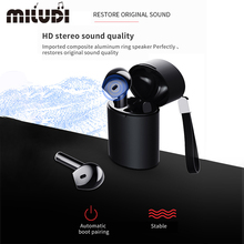 TWS X10 Wireless Earphones Bluetooth Headset Waterproof Music Headphones Sport Earbud Business earpiece for Xiaomi Huawei Iphone