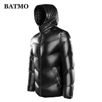 BATMO 2020 new arrival winter high quality 80% white duck down hooded jackets men,waterproof down coat 9928