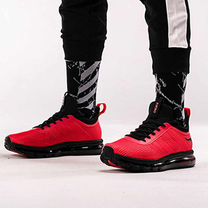 ONEMIX Air 270 Men Running Shoes Outdoor Sport Breathable Lace-up Durable Jogging Sneakers Walking Designer Athletic Max 12.5