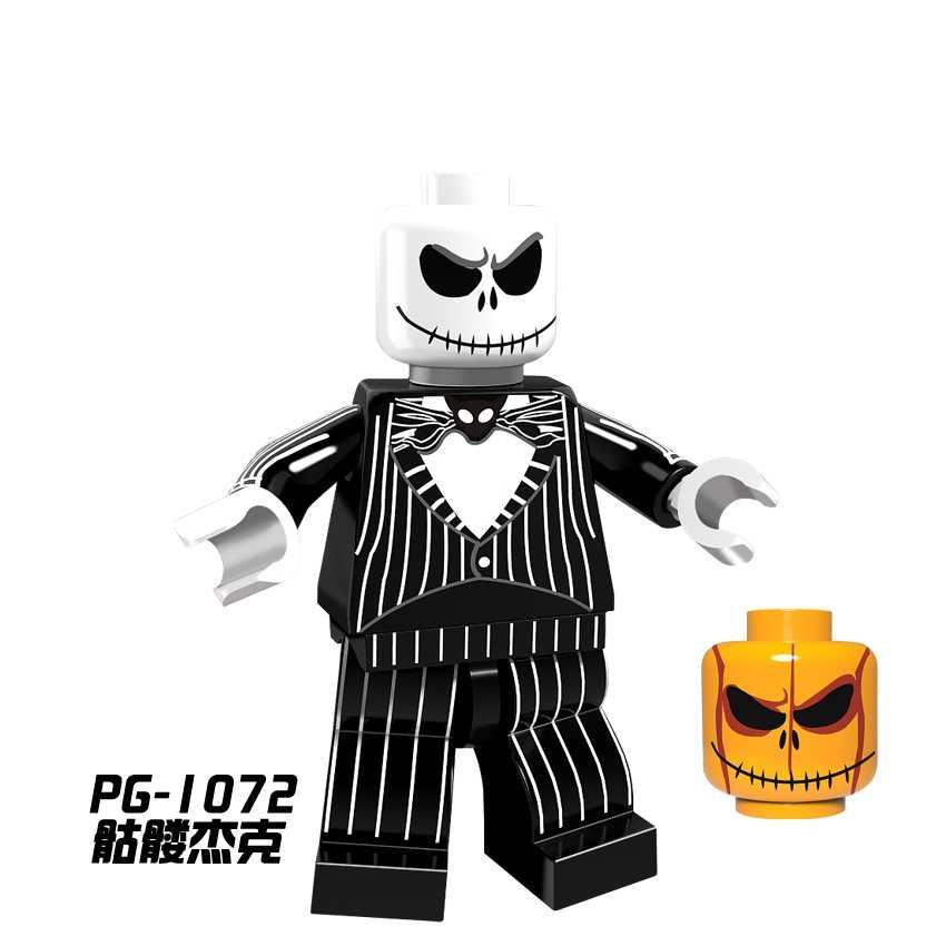 Singola Vendita di Halloween Figure Zombie Strega Fantasma Freddy Maschera Hunter-Venerdì Nero Martinetti Jason Vampire Blocchi di Costruzione Giocattoli Regali