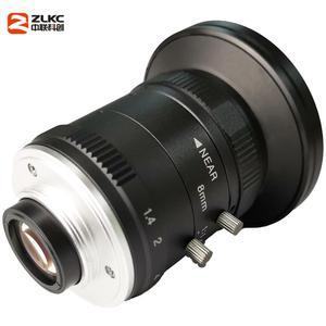 Image 5 - 새로운 모델 8mm 머신 비전 고정 초점 카메라 렌즈 5 메가 픽셀 hd cctv 렌즈 1 인치 f1.4 수동 아이리스 c 마운트 낮은 왜곡 렌즈