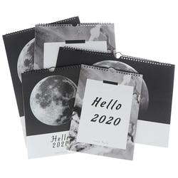 Wall 2020 kalendarz Agenda 365 dni terminarz notatki Do zrobienia lista zdzieralny kalendarz biurkowy dekoracja kreatywny kalendarz