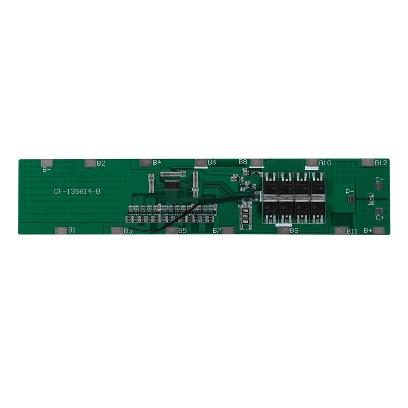 13S 48V 30A 18650 Li-Ion Battery Protection BMS PCB Board Protection With Balance Temperature Protection
