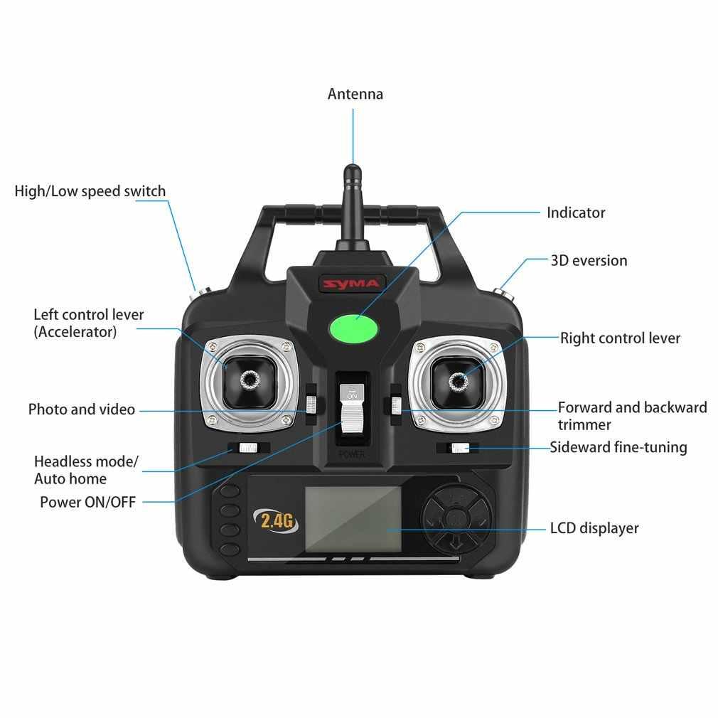 SYMA X5C Обновление версии дрона с дистанционным управлением 6-Axis Дистанционное Управление вертолет сопротивление ветра беспилотный Квадроцикл с 2MP HD Камера Drone