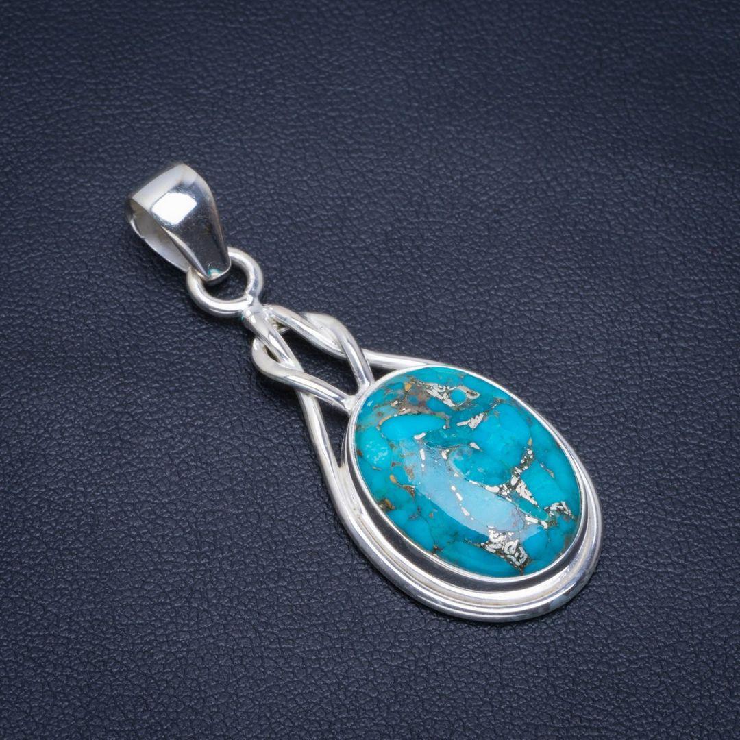 Handmade, Pendant, Natural, Silver, Unique, Sterling
