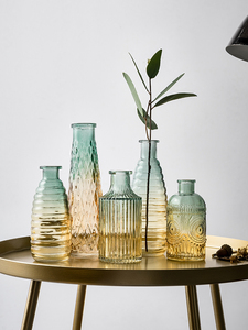Wedding Vase Glass Vase Flower Jarrones Decorativos Moderno Nordic Home Decoration Accessories Flowers Vases S Crystal Vase(China)