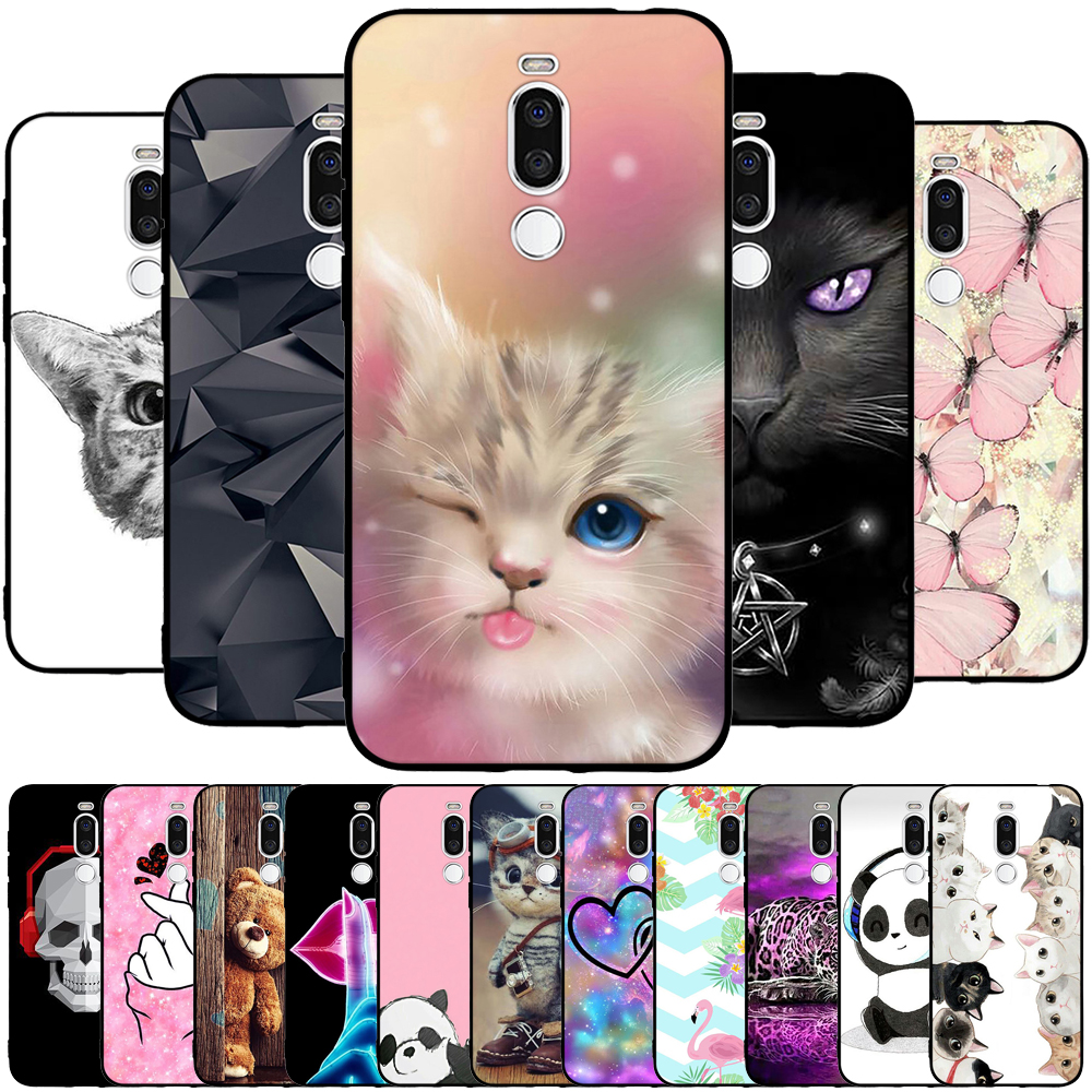 for Meizu X8 Case Back Cover Silicone Soft TPU Ultra Thin Painting Cute Cartoon Animal Phone Case for Meizu X8 Cover Protective