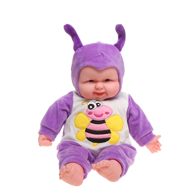 stuffed animals plush toys Pacify Baby Doll peluches de animales Electric Laughing Doll reallife animal toys for children