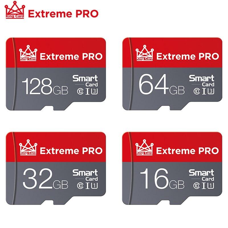 Micro SD карта памяти, класс 10, 64 ГБ, 128 ГБ, 16 ГБ, 32 ГБ