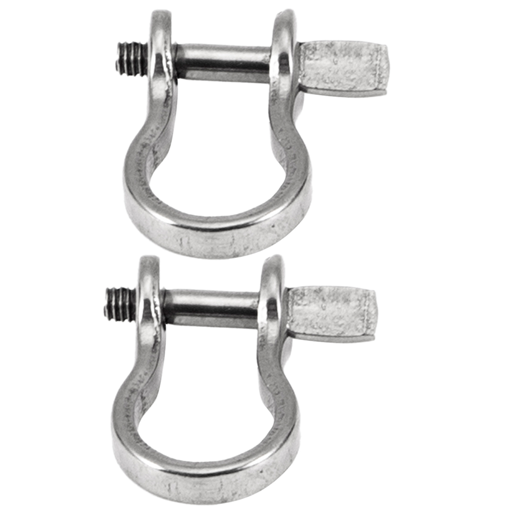 2x Stainless Steel Trolling Shackles Rigging Gamefishing <font><b>Lure</b></font> <font><b>Barracuda</b></font> Tuna image