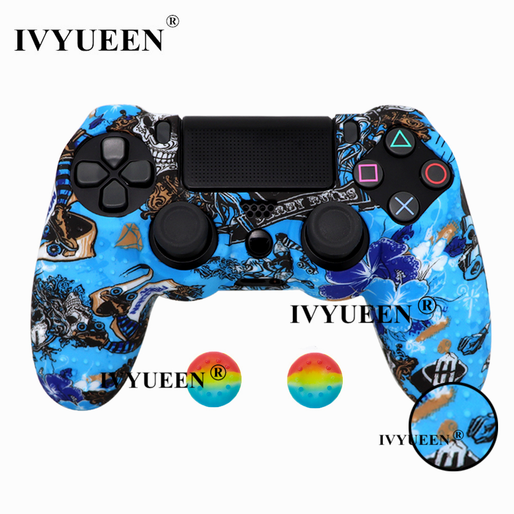 for PlayStation 4 ps4 Pro slim controller silicone case skin 29