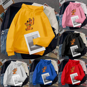 Pullover Sweatshirt Hoodies Hooded-Character Long-Sleeve Tops Printed Fashion Fashion