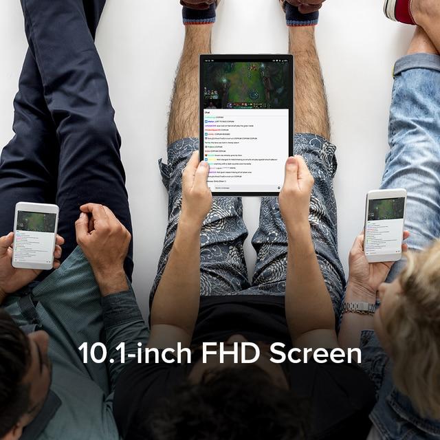 Ulefone Tab A7 Android 11 7680mAh Tablet PC 10.1 ''4G Network 4GB + 64GB Octa Core WIFI 1200*1920 Tablets 13MP Rear Camera 5