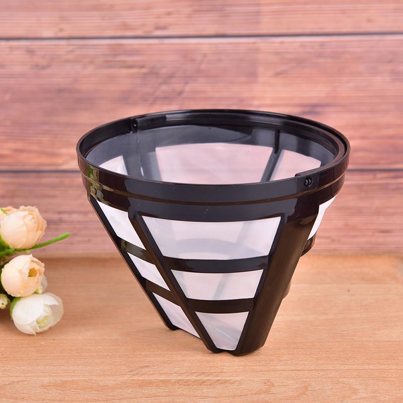 Filtro de café reutilizável para substituição, cesta recarregável