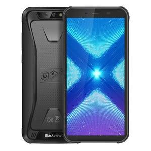 """Image 2 - Blackview BV5500 artı IP68 su geçirmez 4G cep telefonu 3GB + 32GB 5.5 """"ekran 4000mAh Android 10.0 çift SIM güçlendirilmiş akıllı telefon NFC"""