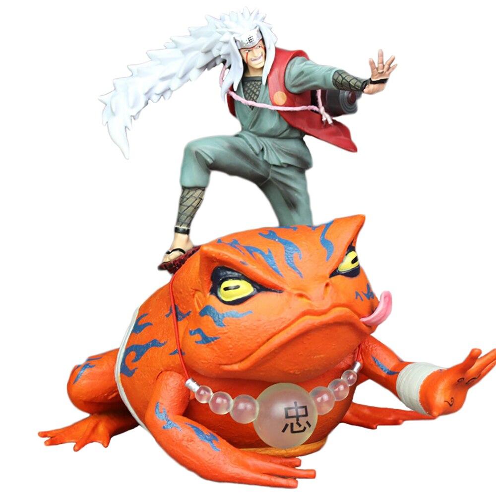 Figura de Naruto Shippuden Gama Sennin Gama-Bunta Jiraiya GK, modelo de figura de acción, figura de Anime de 14/23cm de PVC, figura de juguete coleccionable